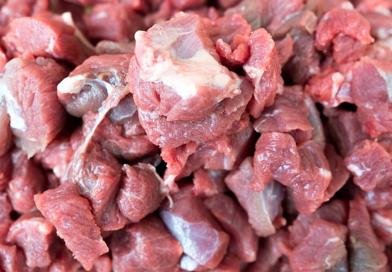 Met rauwe vlees en vis kun je de hond gezond houden!